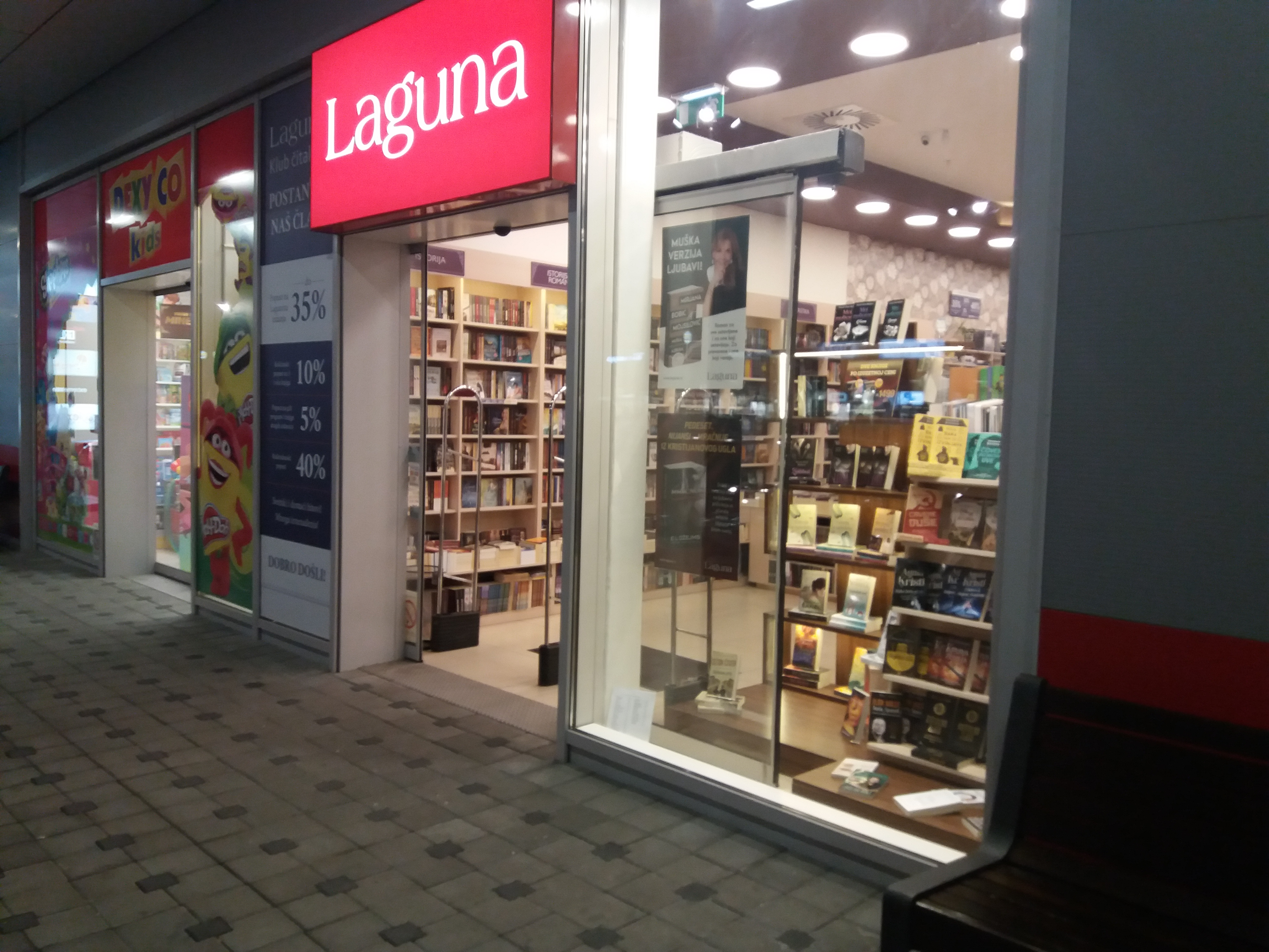 Intervju s knjižarom Laguna iz Zrenjanina